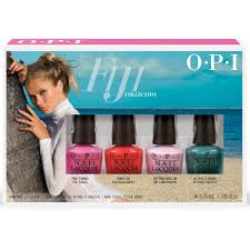 opi fiji nail polish collection 2017 mini 4 pack dc f57