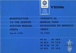 workshop manuals the vespa guide