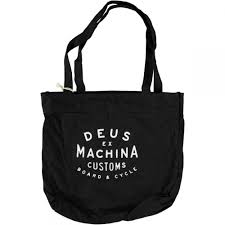ex machina new classics canvas tote bag black