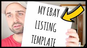 Listing Templates Two Ebay Clothing Templates How To Organize Clothing Inventory