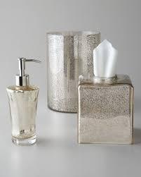Horchow Bathroom Vanities Kassatex Vizcaya Glass Vanity Accessories