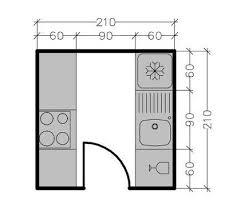 comment faire un plan de cuisine plans de cuisine fermée de 3 à 9 m2 côté maison