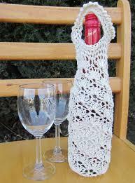 pattern for wine bottle holder 101 best wine bottle cover images on pinterest knit crochet xmas