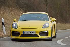 porsche cayman yellow 2016 porsche cayman gt4 review