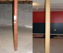 basement wrap lally column basement pole columns lally lock column systems by