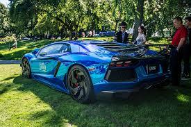 chrome blue lamborghini aventador dxsc chrome blue lamborghini aventador lp700 4 vancouver flickr