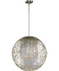 Large Pendant Lighting by Maxim Lighting 24156 Arabesque 23 Inch Wide 9 Light Large Pendant