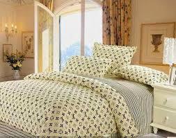 Louis Vuitton Bed Set Light In Net Designer Bed Cover Set