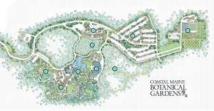 Map Maine Interactive Map Coastal Maine Botanical Gardens