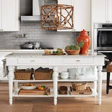 Marble Top Kitchen Work Table by Larkspur Marble Top Kitchen Island Williamssonoma Like The Open