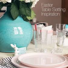 Easter Table Setting 5 Easter Table Decor Ideas Crate And Barrel Blog