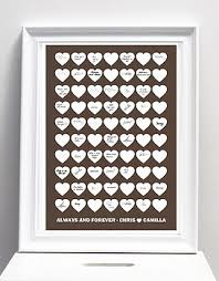 wedding signing frame alternatives to guest books