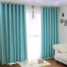 Turquoise Blackout Curtains Turquoise Sound Proofing Blackout Curtains Pins I