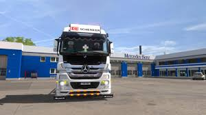 mega truck mega tuning mercedes actros 1 22 truck euro truck simulator 2 mods