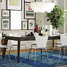 AngledLeg Expandable Table West Elm - West elm dining room table