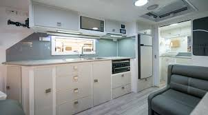 Caravan Kitchen Cabinets Caravan Cleaning Hacks For Easy Outback Living