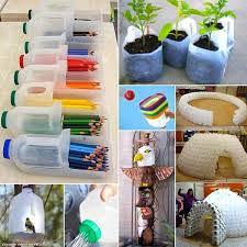 decoration with plastic bottles plastic bottles recycling ideas