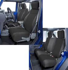 seat covers jeep wrangler coverking front seat covers with rear cover for 13 17 jeep