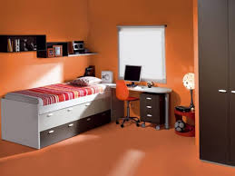 Red Bedroom Accent Wall - bedroom burnt orange accent wall bedroom 916371010201722 burnt