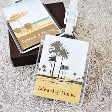 wedding tags for favors personalized luggage tag wedding favors acrylic luggage tag