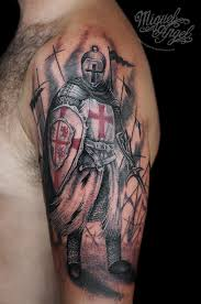 tattoo designs knights templar knight templar tattoo miguel angel custom tattoo artist ww flickr