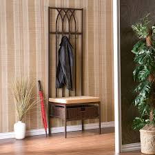 Small Hallway Bench by Amazon Com Southern Enterprises Tristan Hall Tree Entry Bench
