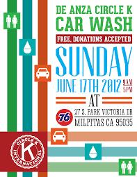 de anza circle k car wash flyer by xtotallybored on deviantart