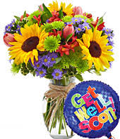 get well soon balloons same day delivery get well gifts for kids get well balloons fromyouflowers