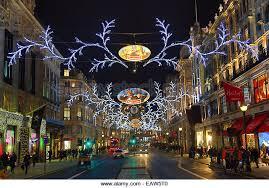 regent street christmas light stock photos u0026 regent street