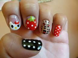 35 cool hello kitty nail art ideas nail design ideaz