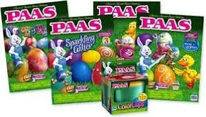 easter egg kits paas easter egg decorating kit variety pack pack of 4