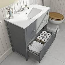 Bathroom Sink Vanity Units The Bath Co Camberley Satin Grey Vanity Unit With Basin 800mm