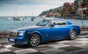 customized rolls royce desktop rollsroyce phantom coupe rolls blue front luxury on