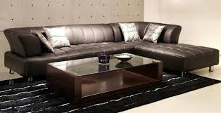 Leather Sectional Sofa Bed Minimalist Leather Sectional Sofa Bed For Small Space Eva Furniture