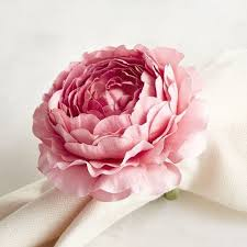 ranunculus flower pink ranunculus flower napkin ring pier 1 imports