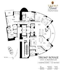 beach club hallandale floor plans floor plan trump royale sunny isles beach trump royale condo for