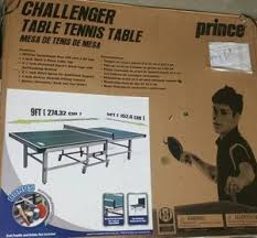 prince challenger table tennis table queen full mattress box spring sets appliances in high point