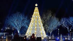 watch the obama u0027s light the national christmas tree nbc news