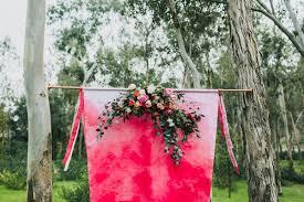 wedding backdrop garden modern garden wedding inspiration ruffled