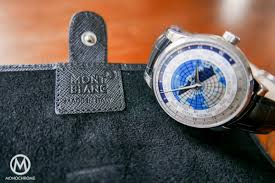 travel watch images Give away montblanc travel watch roll for 2 watches monochrome jpg