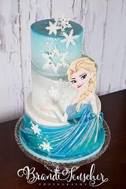 frozen birthday cake delectable cakes painted elsa frozen birthday cake