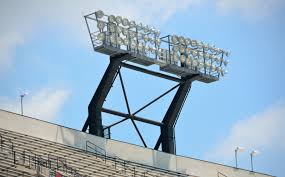 college football stadium lights free stock photo domain