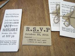 Wedding Invitations And Rsvp Cards Cheap Diy Hand Stamped Wedding Invitations Loveinamasonjar
