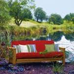 outdoor futon backyard landscape design