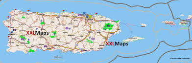 Puerto Rico On A Map by Tourist Map Of Puerto Rico Free Download For Smartphones