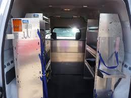 Ford Transit Connect Shelving by Ranger Design Van Interior Ford Transit Connect Van Racks