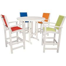 Bar Height Patio Furniture Sets - plastic patio furniture outdoor bar furniture patio furniture