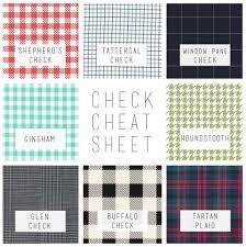 plaid vs tartan checks