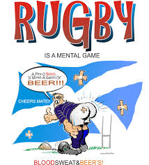beer cheers cartoon scottish rugby player ruffline u0027s cartoon art
