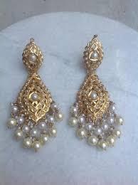 dangler earring gold pearl dangler earrings gold pearl pearl earrings and pearls